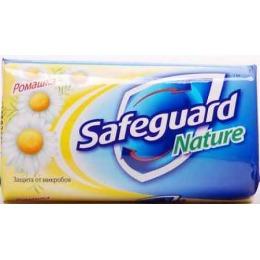 """SafeGuard мыло туалетное """"Ромашка"""", 90 г"""