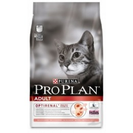 Pro Plan корм для кошек лосось и рис, 1.5 кг