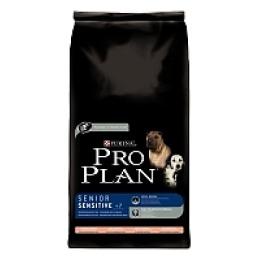 Pro Plan корм для пожилых собак от 7 лет с чувствительной кожей лосось и рис, 14 кг