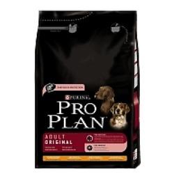 Pro Plan корм для собак мелких пород курица и рис, 3 кг