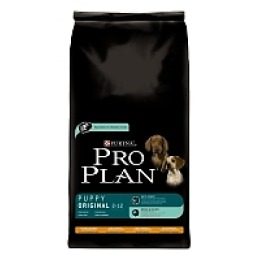 Pro Plan корм для щенков курица и рис, 14 кг