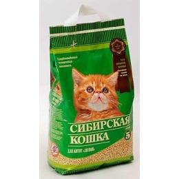 """Сибирская Кошка наполнитель для котят """"Лесной"""" древестный, 3 л"""