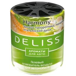 """Deliss освежитель воздуха """"Harmony"""" гелевый, для автомобиля, 60 мл"""