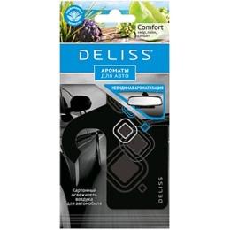 """Deliss освежитель воздуха """"Comfort"""" картонный, для автомобиля"""