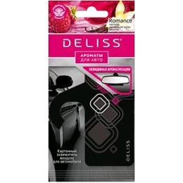 """Deliss освежитель воздуха """"Romance"""" картонный, для автомобиля"""