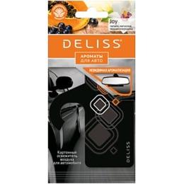 """Deliss освежитель воздуха """"Joy"""" картонный, для автомобиля"""