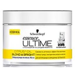 """Essence Ultime маска """"Blondbright"""" нейтрализующая желтизну, для натуральных и окрашенных светлых волос, 200 мл"""