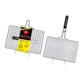 """Forester решетка-гриль """"Mobile. Пикник под ключ!"""" со съёмной ручкой, 22х35 см"""