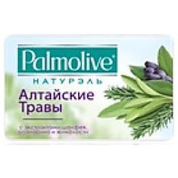 """Palmolive мыло """"Алтайские травы"""" с экстрактами шалфея, розмарина и жимолости, 90 г"""