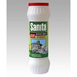 """Sanita чистящий порошок банка """"Двойной эффект"""", 400 г"""