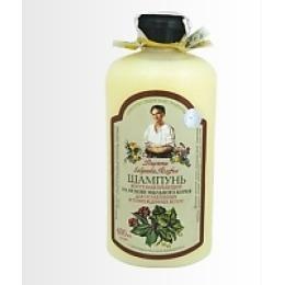 """Рецепты бабушки Агафьи шампунь для ослабленных и поврежденных волос """"Восстанавливающий"""",  600 мл"""