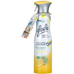 Glade освежитель Освежающий Лимон , 275 мл