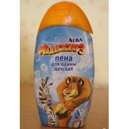 """Aura пена для ванны детская """"Мадагаскар"""", 300 мл"""