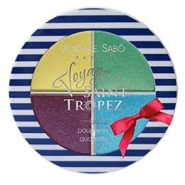 Vivienne Sabo тени для век Квартет «Voyage St.Tropez»