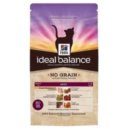 """Hill's корм для взрослых кошек """"Ideal balance"""" без зерновой курица/картофель"""