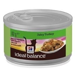 """Hill's корм для взрослых кошек """"Ideal balance"""" с индейкой"""