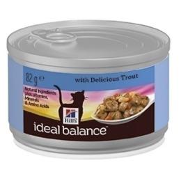 """Hill's корм для взрослых кошек """"Ideal balance"""" с форелью"""
