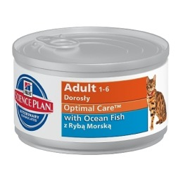 "Hill's корм для взрослых кошек ""Science plan"" с рыбой"