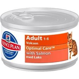 "Hill's корм для взрослых кошек ""Science plan"" с лососем"
