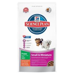 """Hill's корм для щенков декоративных пород """"Science plan"""" курица/индейка"""