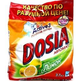 Dosia стиральный порошок автомат лимон, 3.7 кг