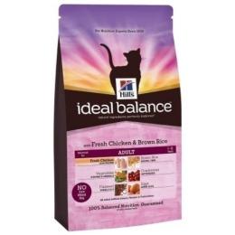 "Hill's корм для взрослых кошек ""Ideal balance"" курица/рис"