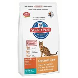 "Hill's корм для взрослых кошек ""Science plan"" с тунцом"