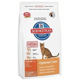 "Hill's корм для взрослых кошек ""Science plan"" с ягненком"
