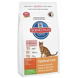 """Hill's корм для взрослых кошек """"Science plan"""" с кроликом"""