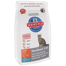 """Hill's корм для стерилизованных кошек """"Science plan"""" 6 месяцев - 6 лет с тунцом"""