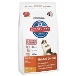 "Hill's корм для кошек ""Science plan"" вывод шерсти"