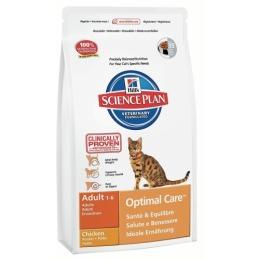 "Hill's корм для взрослых кошек ""Science plan"" с курицей"