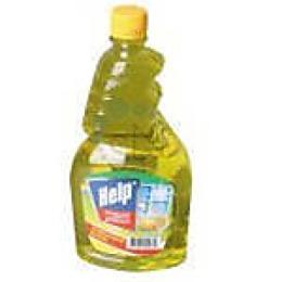 """Help средство для мытья стекол """"Лимон"""" запасной блок без распылителя, 750 мл"""