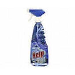 "Help средство для мытья стекол ""Свежий озон"" с курком, 750 мл"