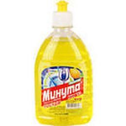 """Минута средство для мытья посуды """"Лимон"""", 500 мл"""