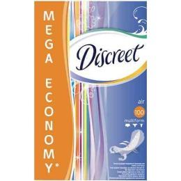"""Discreet женские гигиенические прокладки на каждый день """"Аir"""", 100 шт"""