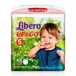 """Libero подгузники-трусики """"Up&Go"""" 10-14 кг"""