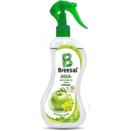 "Breesal нейтрализатор запаха ""Антитабак. Яяблочный фреш"", 375 мл + салфетка из микрофибры"