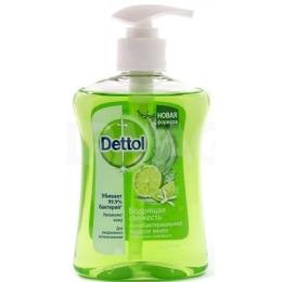 """Dettol жидкое мыло для рук """"Бодрящая свежесть с экстрактом гейпфрута"""" антибактериальное , 250 мл"""