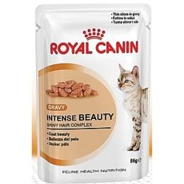 """Royal Canin влажный корм для поддержания красоты шерсти кошек """"Intense Beauty"""", 85 г"""