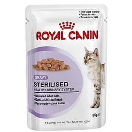 """Royal Canin влажный корм для стерилизованных кошек """"Sterilised"""", 85 г"""