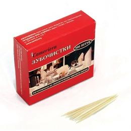 Casalinga зубочистки в коробочке, 500 шт