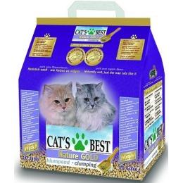 """Cat`s Best наполнитель для кошачьего туалета """"Nature Gold"""" древесный, комкующийся, 10 л"""