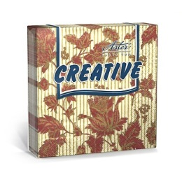 "Aster салфетки ""Creative. Изыск"" 25х25 см, 20 шт"