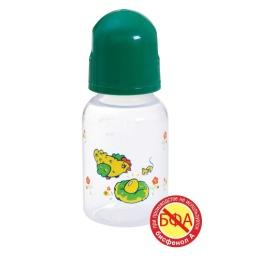 Курносики бутылочка полипропиленовая с силиконовой соской, 125 мл