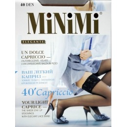 "Minimi чулки ""Capriccio 40"" bianco"