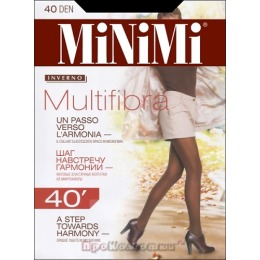 "Minimi колготки ""Multifibra 40"" moka"