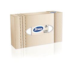 """Zewa платки в коробке """"Car Box"""" 3-ех слойные, 50 шт"""