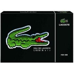 """Lacoste подарочный набор """"Noir"""" туалетная вода + миниатюрный спрей, 100 мл"""