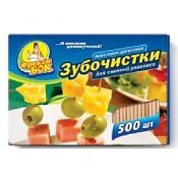 Фрекен Бок зубочистки сменная упаковка, 500 шт